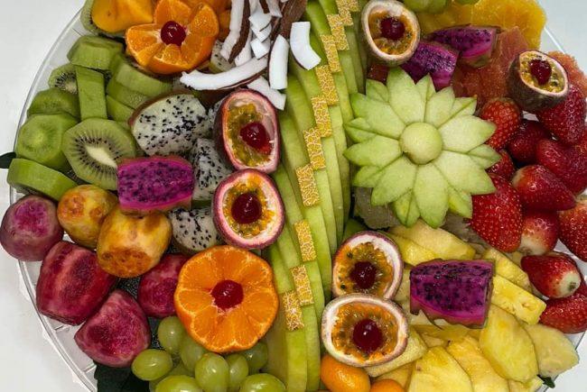 זה בדיוק הזמן לסלסלת פירות טרייה וטעימה